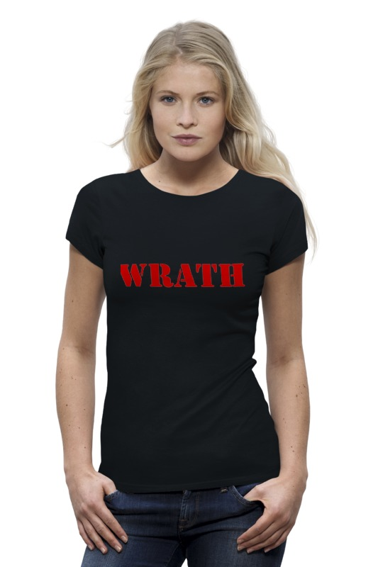 Футболка Wearcraft Premium Printio Wrath футболка wrath
