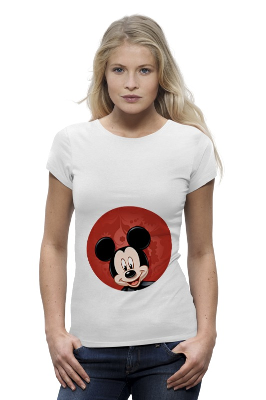 Футболка Wearcraft Premium Printio Микки маус мультяшный герой футболка print bar mickey mouse микки маус