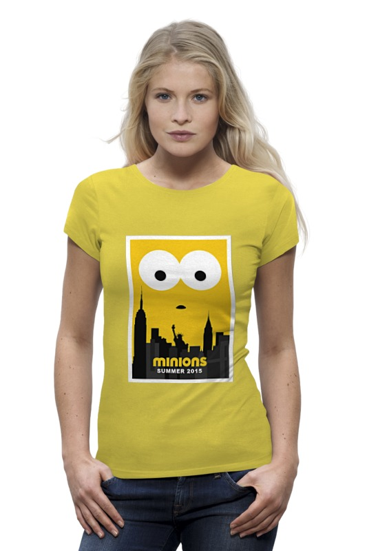 Футболка Wearcraft Premium Printio Minions summer 2015 футболка wearcraft premium slim fit printio minions summer 2015