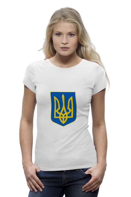 Футболка Wearcraft Premium Printio Герб украины футболка wearcraft premium printio кит ричардс