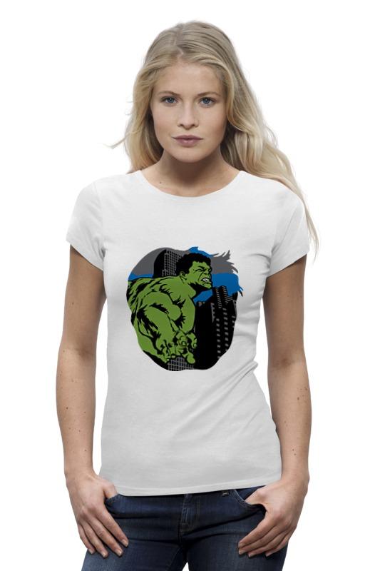 Футболка Wearcraft Premium Printio Халк (hulk) лонгслив printio халк hulk