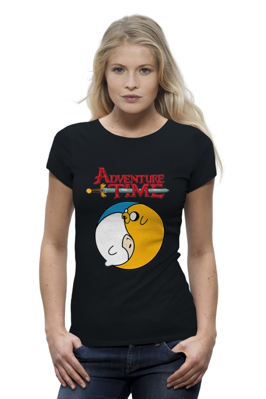Футболка Wearcraft Premium Printio Adventure time / время приключений футболка wearcraft premium printio время приключений adventure time