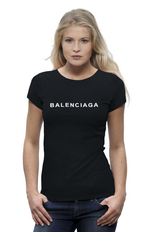Футболка Wearcraft Premium Printio Balenciaga logo бумажник balenciaga 253054