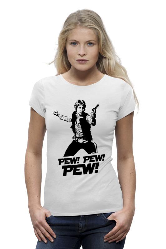 Футболка Wearcraft Premium Printio Pew! pew! pew! хан соло лонгслив printio pew pew pew хан соло