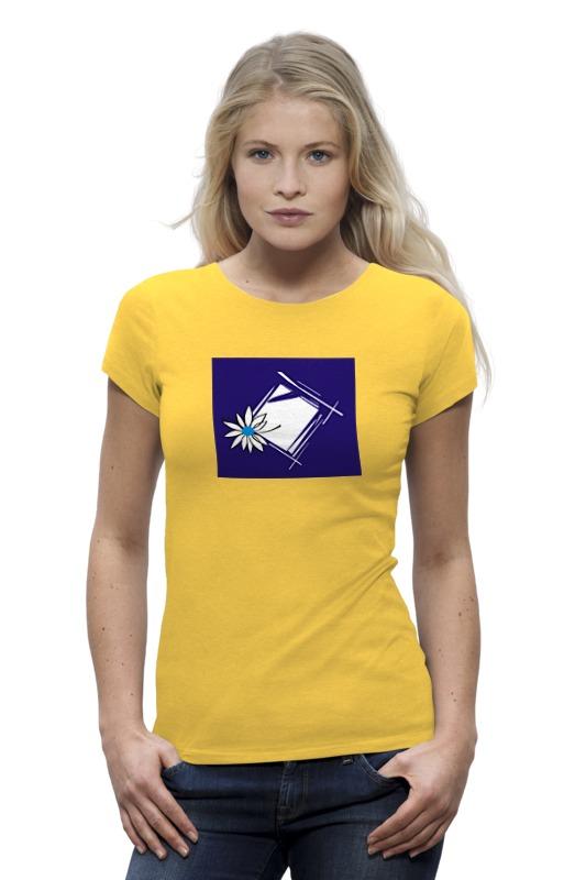 Футболка Wearcraft Premium Printio Ромашка в рам футболка wearcraft premium slim fit printio ромашка в рам