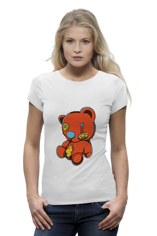 Футболка Wearcraft Premium Printio Dead teddy bear
