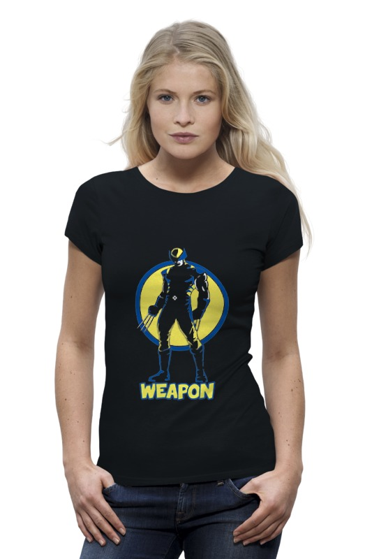 Футболка Wearcraft Premium Printio Weapon футболка стрэйч printio weapon of mass destruction