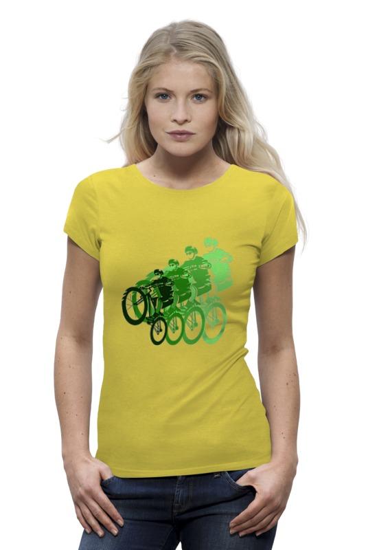 Футболка Wearcraft Premium Printio Велосипедисты футболка wearcraft premium printio велосипедисты