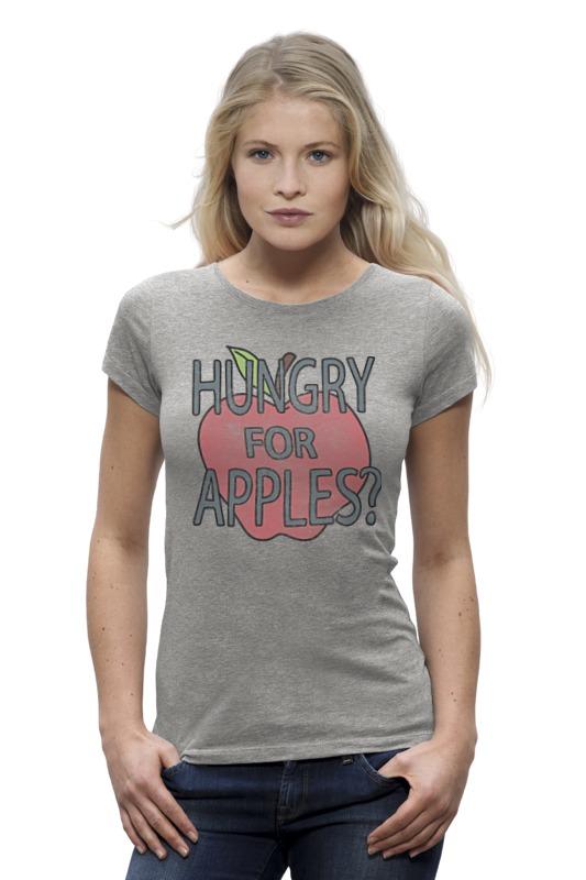 Футболка Wearcraft Premium Printio Hungry for apples? рик и морти hungry ghosts