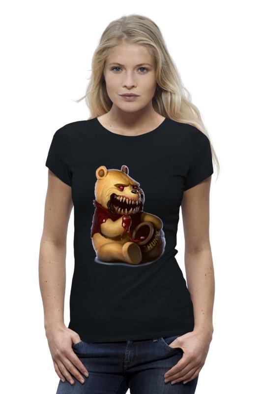 Футболка Wearcraft Premium Printio Zombie the pooh