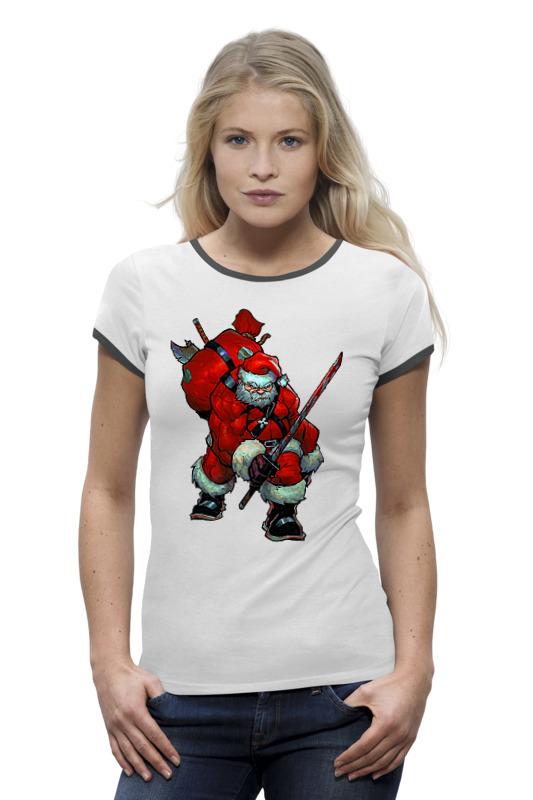 Футболка Wearcraft Premium Printio Santaninja футболка рингер printio creedence