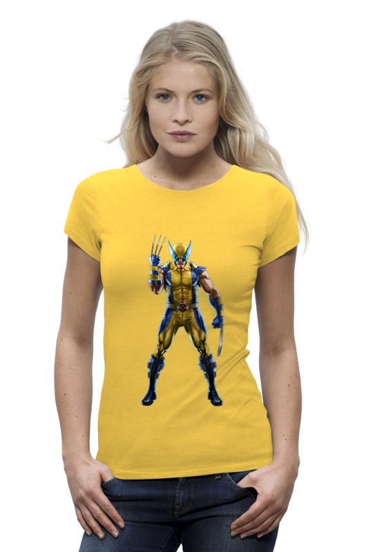 Футболка Wearcraft Premium Printio Wolverine / росомаха футболка wearcraft premium printio кит ричардс