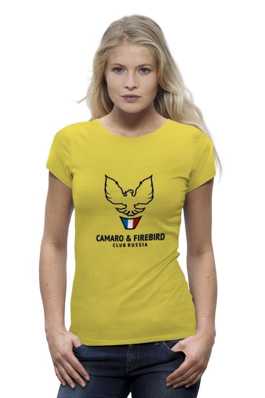 Футболка Wearcraft Premium Printio Camaro & firebird club russia футболка wearcraft premium printio welcome to russia