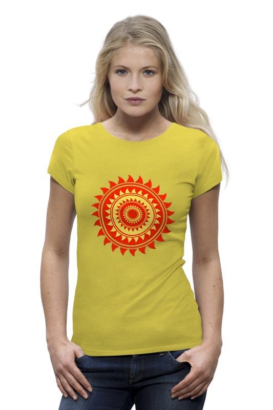 Футболка Wearcraft Premium Printio Солнце футболка wearcraft premium printio оранжевое солнце
