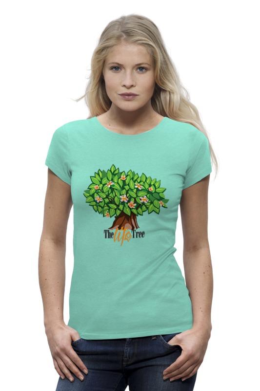 Футболка Wearcraft Premium Printio Icalistini the life tree дерево жизни кувшин дерево жизни