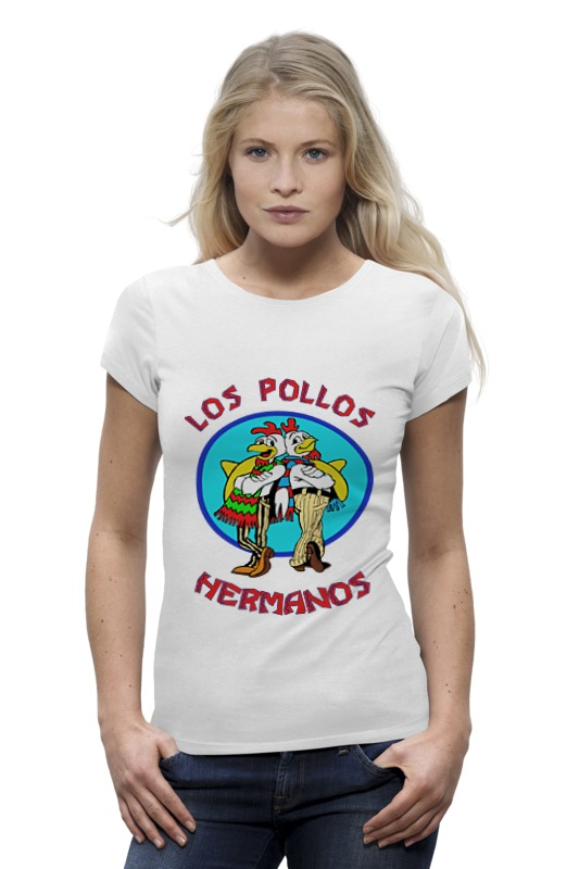 Футболка Wearcraft Premium Printio Los pollos hermanos (breaking bad) los cachorros