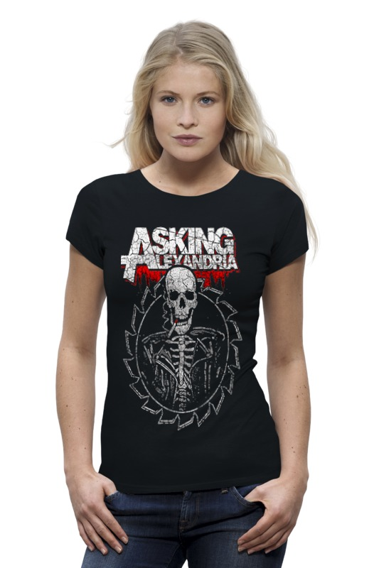 Футболка Wearcraft Premium Printio Asking alexandria футболка классическая printio asking alexandria the black