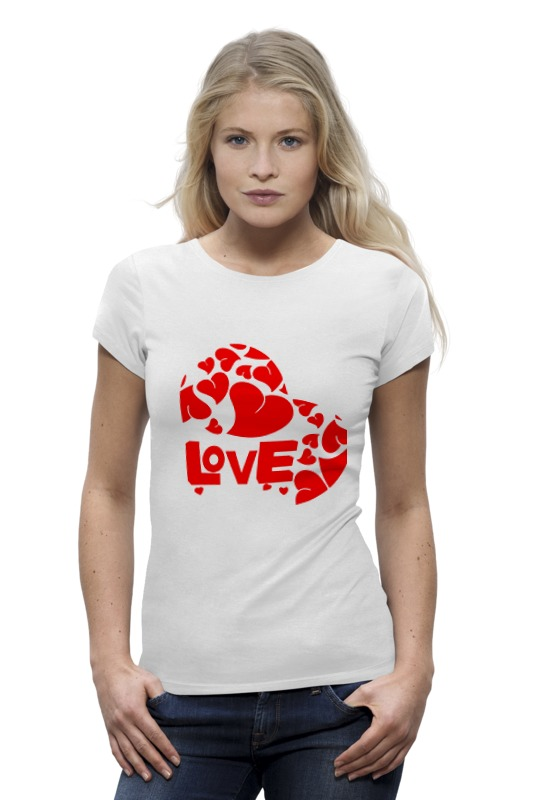 Футболка Wearcraft Premium Printio Love футболка wearcraft premium printio love for orlando