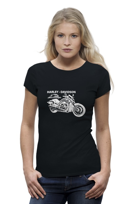 Printio Harley-davidson / харлей футболка wearcraft premium printio harley davidson харлей