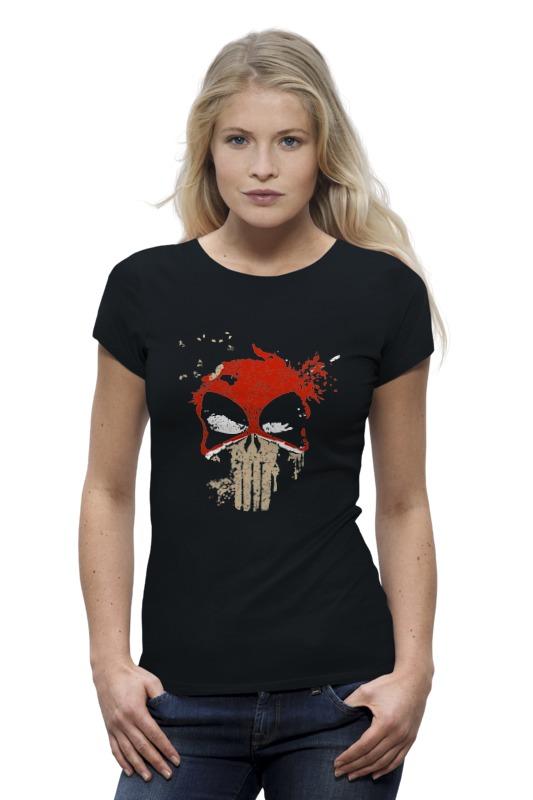 Футболка Wearcraft Premium Printio Deadpool punisher футболка wearcraft premium printio кит ричардс