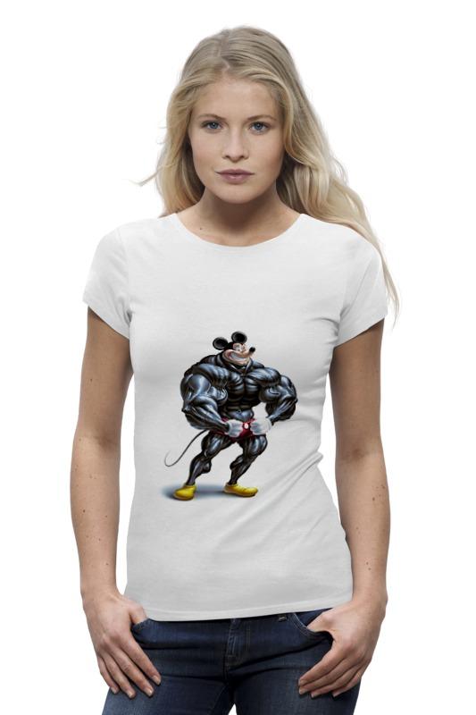 Футболка Wearcraft Premium Printio Накаченный микки футболка wearcraft premium printio кит ричардс