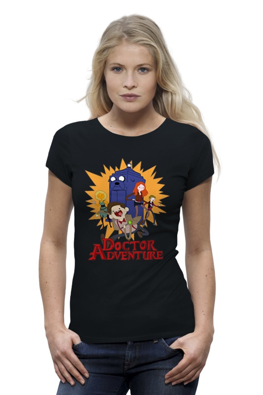 Футболка Wearcraft Premium Printio Doctor adventure time футболка wearcraft premium slim fit printio adventure time x doctor who