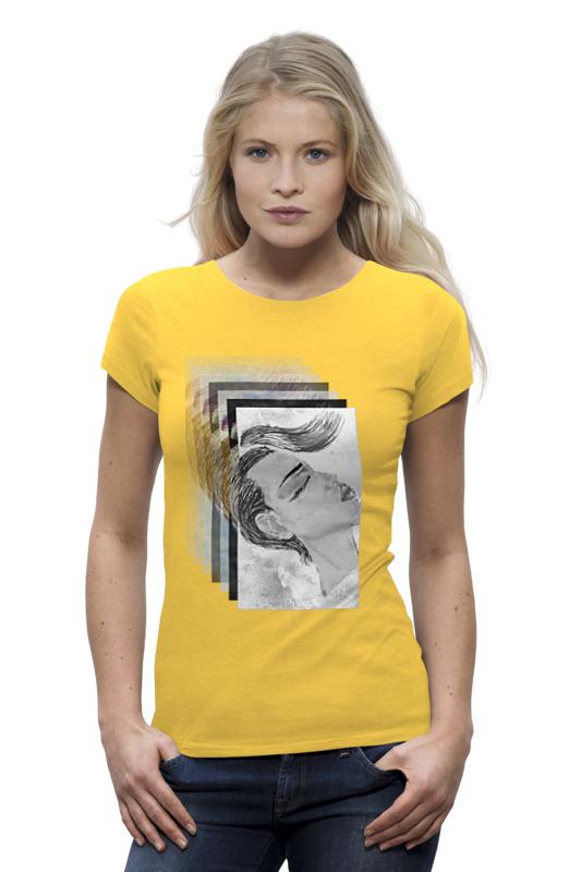 Футболка Wearcraft Premium Printio Желтая футболка желтая мужская