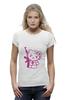 "Футболка Wearcraft Premium (Женская) ""Hello Kitty AK-47"" - hello kitty, хелло китти"