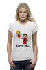 "Футболка Wearcraft Premium ""love is..."" - heart, i love, love is"