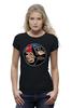 """Футболка Wearcraft Premium (Женская) """"Бэтмен и Супермен"""" - супермен, batman, supermen, бэтмен"""