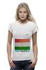 "Футболка Wearcraft Premium ""Флаг Таджикистана"" - tajlife, флаг таджикистана, душанбе"