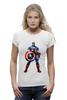 """Футболка Wearcraft Premium """"Капитан Америка / Captain America"""" - рисунок, капитан америка, captain america, knoart"""