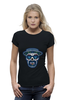 "Футболка Wearcraft Premium ""Гейзенберг Череп"" - skull, череп, во все тяжкие, breaking bad, гейзенберг, heisenberg, calavera, калавера, sugar"