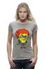 "Футболка Wearcraft Premium (Женская) ""Chucky Killer"" - убийца, spongebob, чаки, chucky"