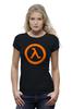 "Футболка Wearcraft Premium ""Half-Life"" - half-life, период полураспада, халва, халфа"