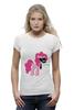 """Футболка Wearcraft Premium (Женская) """"My Little Pony - Пинки Пай (Pinkie Pie)"""" - pony, mlp, пони, пинки пай"""
