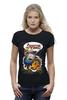 "Футболка Wearcraft Premium (Женская) ""Adventure Time Finn and Jake "" - арт, смешные, приколы, adventure time, время приключений, джейк, jake, finn, финн"