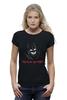 "Футболка Wearcraft Premium (Женская) ""Batman x Superman"" - супермен, batman, бэтмен"