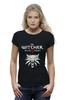 """Футболка Wearcraft Premium """"Ведьмак 3: Дикая Охота"""" - волк, ведьмак, witcher, wild hunt, дикая охота"""