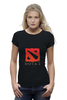 "Футболка Wearcraft Premium (Женская) ""Dota 2"" - valve, dota, navi, dota2, steam, dotka, video games"