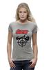 "Футболка Wearcraft Premium (Женская) ""Sniper"" - sniper, снайпер, убийца, киллер, headshot"