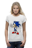"Футболка Wearcraft Premium ""Sonic the Hedgehog"" - games, игры, ёжик, компьютерные игры, pc, соник, sonic, 80's, video games"