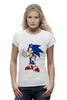 """Футболка Wearcraft Premium """"Sonic the Hedgehog"""" - games, игры, ёжик, компьютерные игры, pc, соник, sonic, 80's, video games"""