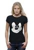 "Футболка Wearcraft Premium (Женская) ""Angry Mickey"" - angry mickey"