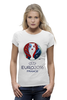 "Футболка Wearcraft Premium ""evro 2016"" - футбол, france, франция, евро, uefa, уефа, 2016, чемпионат европы"