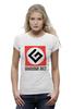 "Футболка Wearcraft Premium (Женская) ""Grammar Nazi"" - grammar nazi, русский язык"