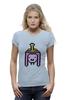 """Футболка Wearcraft Premium (Женская) """"Принцесса Бубльгум """" - adventure time, время приключений, бубльгум, принцесса бубльгум, princess bubblegum"""