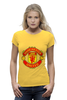 "Футболка Wearcraft Premium (Женская) ""Manchester United"" - football, uk, манчестер юнайтед, футбольный клуб"