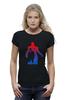 """Футболка Wearcraft Premium (Женская) """"железный человек"""" - железный человек, iron man"""