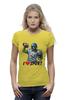 """Футболка Wearcraft Premium (Женская) """"Зомби Спорт - Я люблю Спорт"""" - zombie, зомби, зомби спорт, i love sport, я люблю спорт"""